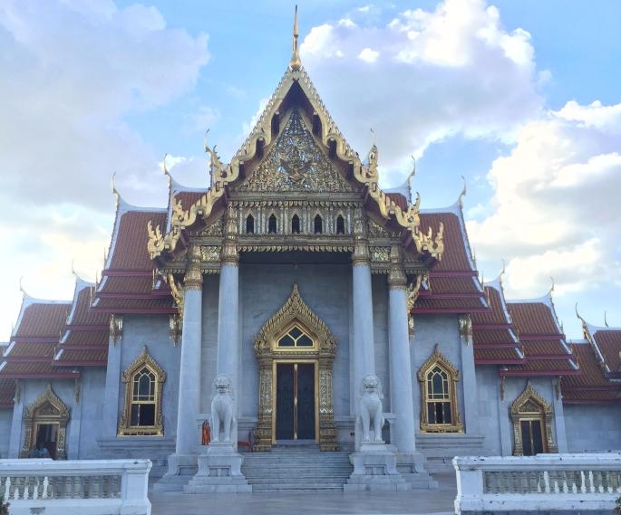 Bangkok Wat Benchamabophit tapınağı
